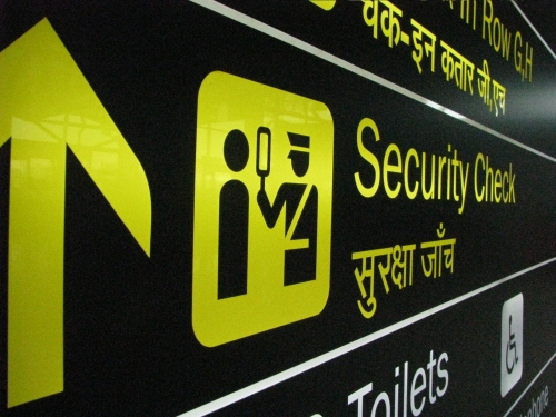 India-airport-security